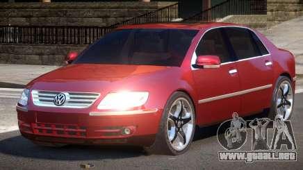 Volkswagen Pheaton SN para GTA 4