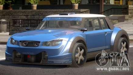 Valley Car from Trackmania 2 PJ1 para GTA 4