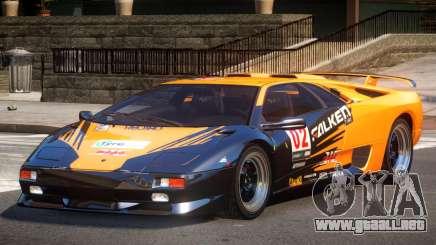 Lamborghini Diablo Super Veloce L4 para GTA 4