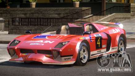 Island Car from Trackmania PJ4 para GTA 4