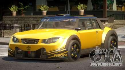 Valley Car from Trackmania 2 PJ2 para GTA 4