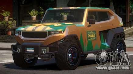 Canis Freecrawler L4 para GTA 4