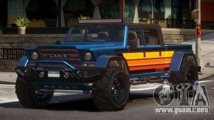 Canis Kamacho L3 para GTA 4