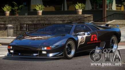 Lamborghini Diablo Super Veloce L6 para GTA 4