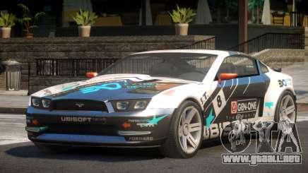 Canyon Car from Trackmania 2 PJ4 para GTA 4