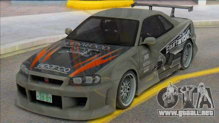 Eddies Skyline para GTA San Andreas