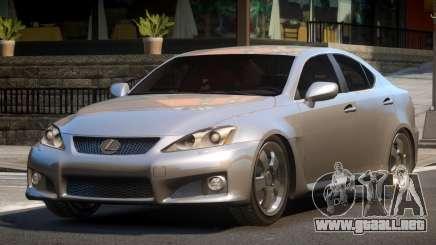 Lexus ISF SN para GTA 4