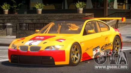 2009 BMW M3 GT2 L4 para GTA 4