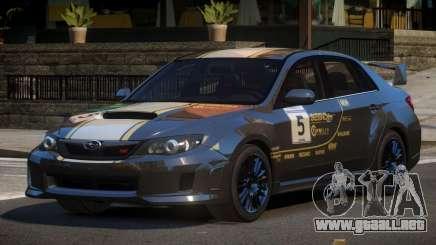 Subaru Impreza D-Tuned L4 para GTA 4