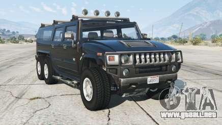 Hummer H2 6x6 para GTA 5