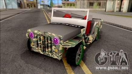 Jeep Wrangler Philippines Owner Type para GTA San Andreas