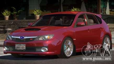 Subaru Impreza WRX STI R-Tuning para GTA 4