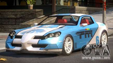 Coast Car from Trackmania PJ1 para GTA 4