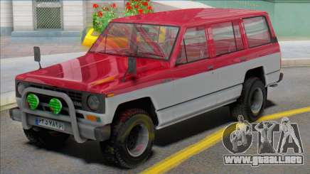 Nissan Patrol Safari para GTA San Andreas