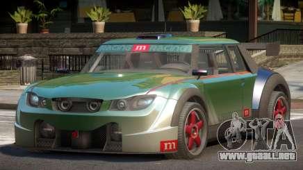 Valley Car from Trackmania 2 PJ5 para GTA 4