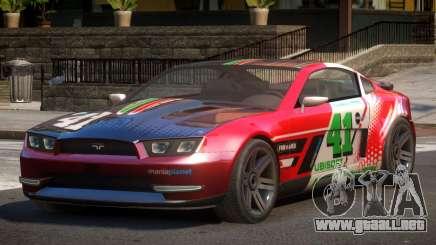 Canyon Car from Trackmania 2 PJ5 para GTA 4