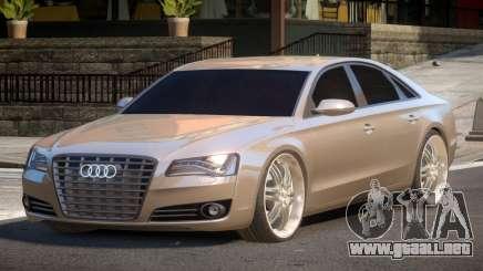 Audi A8 D4 para GTA 4