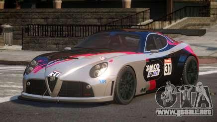 2007 Alfa Romeo 8C L9 para GTA 4