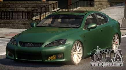 Lexus IS-F L-Tuned para GTA 4