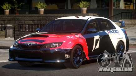 Subaru Impreza D-Tuned L3 para GTA 4