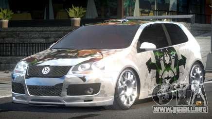 Volkswagen Golf GTI Drift PJ3 para GTA 4