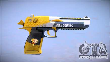 Champions Arena (Desert Eagle) para GTA San Andreas