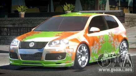 Volkswagen Golf GTI Drift PJ5 para GTA 4