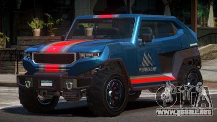 Canis Freecrawler L5 para GTA 4