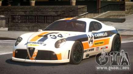 2007 Alfa Romeo 8C L7 para GTA 4