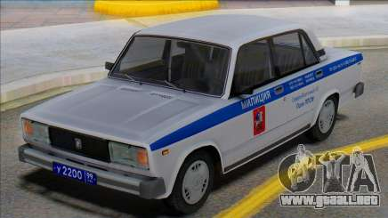 Vaz 2105 PPP Police 2001 para GTA San Andreas