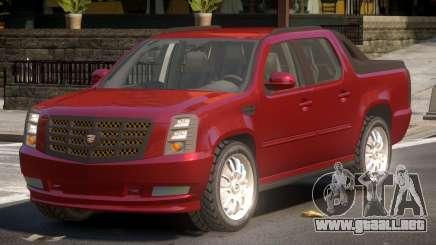 Cadillac Escalade Ext TR para GTA 4