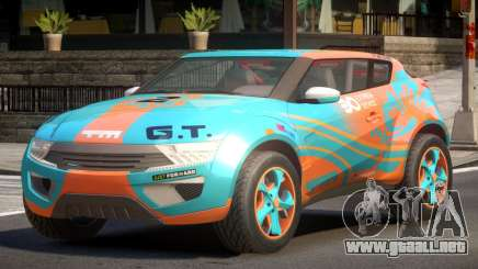 Lagoon Car from Trackmania 2 PJ8 para GTA 4