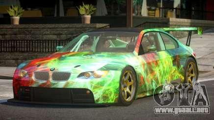 2009 BMW M3 GT2 L5 para GTA 4