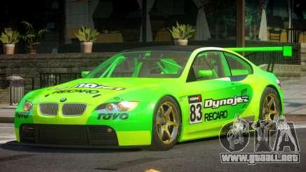 2009 BMW M3 GT2 L10 para GTA 4