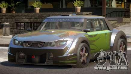 Valley Car from Trackmania 2 PJ7 para GTA 4