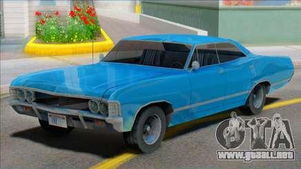 1967 Impala [SA Style] para GTA San Andreas