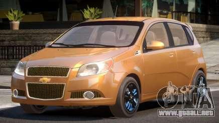 Chevrolet Aveo RS para GTA 4