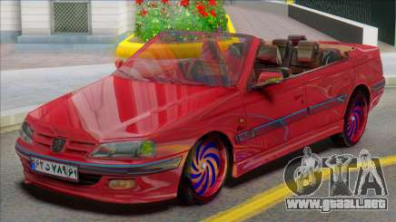 IKCO Peugeot Pars Crook Edition para GTA San Andreas