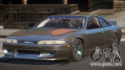 Nissan Silvia S14 Drift PJ1 para GTA 4