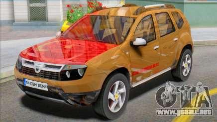 Dacia Duster 2014 Modu T'rkiye para GTA San Andreas