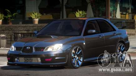 Subaru Impreza STI D-Tuned para GTA 4