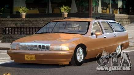 1994 Chevrolet Caprice UL para GTA 4
