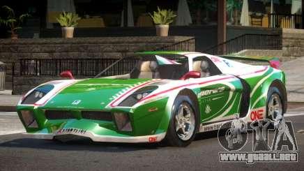 Island Car from Trackmania PJ3 para GTA 4