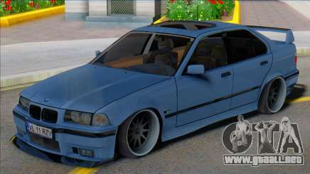 BMW E36 Sedan Low para GTA San Andreas
