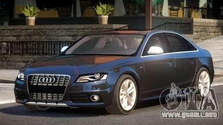 Audi S4 PSI V1.0 para GTA 4