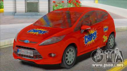 2012 Ford Fiesta Van para GTA San Andreas