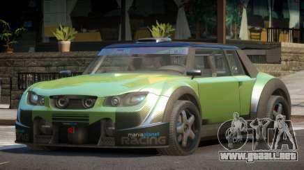 Valley Car from Trackmania 2 PJ10 para GTA 4