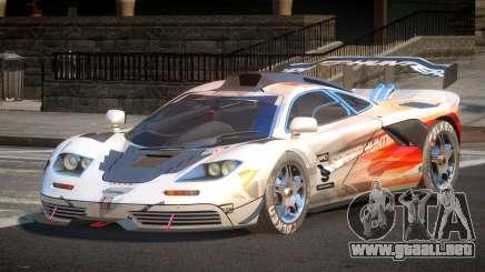1998 McLaren F1 PJ1 para GTA 4
