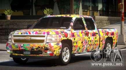 Chevrolet Silverado GST 1500 L1 para GTA 4