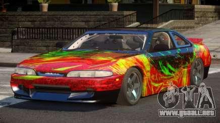 Nissan Silvia S14 Drift PJ3 para GTA 4